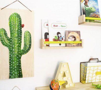 pared habitación de niños decoración
