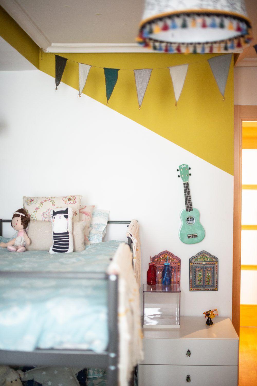 habitación infantil compartida