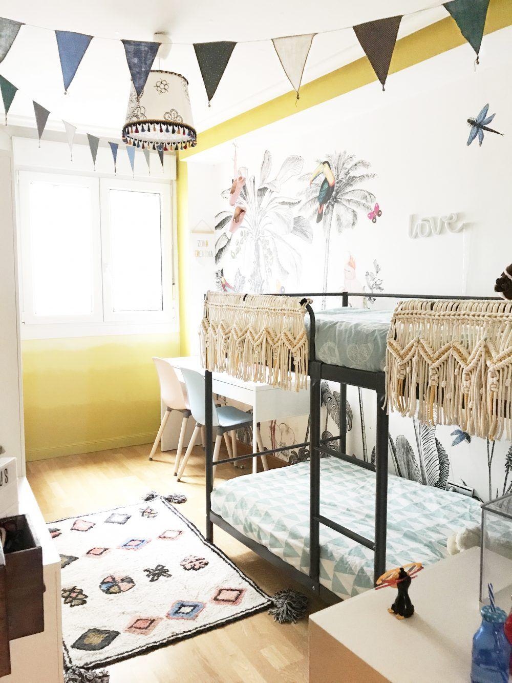 decoracion habitación infantil compartida