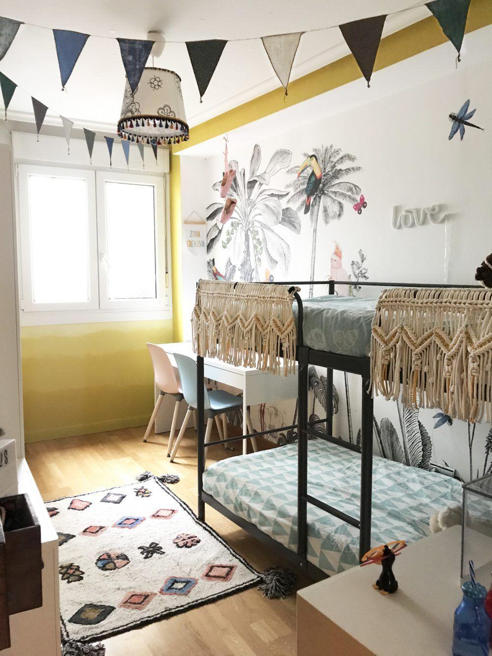 La decoracion de una habitaci n infantil compartida para for Decoracion habitacion compartida nino nina