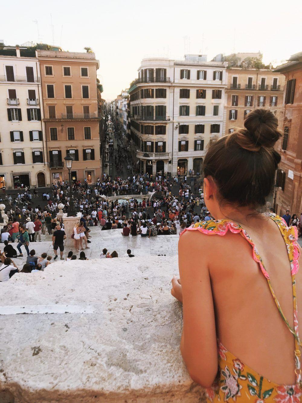 Roma, plaza españa