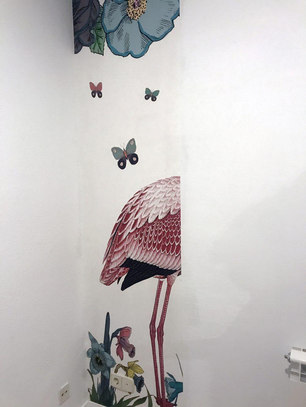 mural papel pintado